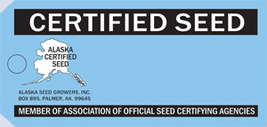 Certified Seed Tag