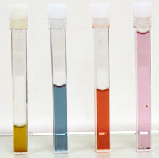 Testing reveals colorimetric concentrations of essential macronutrients (N,P,K)